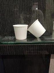 150 ml white paper cups