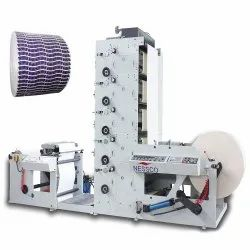 Nessco Flexo Printing Manufacturing Machine, For Paper, Number Of Colors: 6