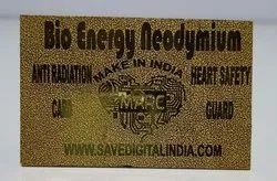 Bio Energy Neodymium Gold Card