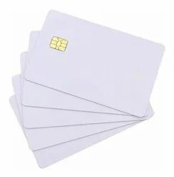 PVC Double Sided Contact Smart Cards, Shape: Rectangular