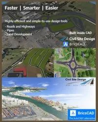 Bricscad Civil Site Design - Better And Powerful Civil Engineering Design And Detailing Software