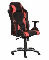 High Back Leatherette Gaming Any Time Chair Black & Red (VJ-2021)