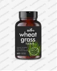 Ssure Wheatgrass Tablets For Energy, Detox & Immunity Support