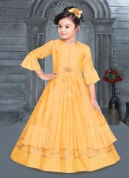Yellow Girl Kids Fashion Clothing