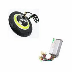 12 Inch Brushless E-Bike Wheels Scooter Hub Motor with Controller