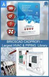 CADPROFI - HVAC And Piping Library Software