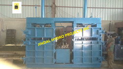 Double Box Double Hydraulic Cylinder Baling Press