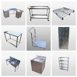Cleanroom Stainless Steel Furniture