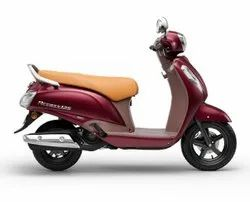 Red Suzuki Access 125 Special Edition Scooter