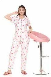 Summer 3 Piece Night Suit Set