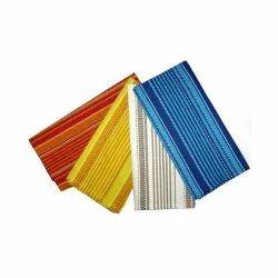 Rectangular Striped Cotton Kitchen Towel Set, Size: 18x28