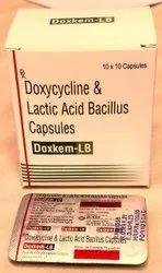 Doxkem-LB 100mg Doxycycline & Lactic Acid Bacillus Capsules