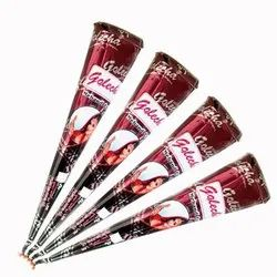 Red Golecha Henna Cone Only For Women, For Personal, Packaging Type: Box