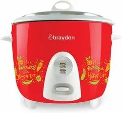 Brauden Capacity( Litre): 1.8 Litre Brayden Rizo 1.8l Rice Cooker, Crimson Red