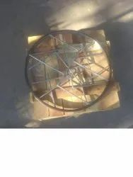 Metal Single Jacketed Gaskets, Round, Wooden Palate