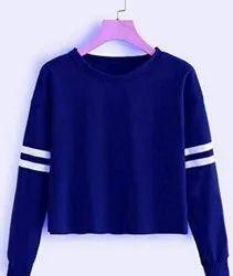 Self-desigen Adult Ladies T Shirt Wholesaler In Surat, Quantity Per Pack: 20