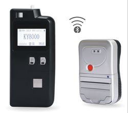 Alcohol Breath Tester with Bluetooth Printer KY-8000