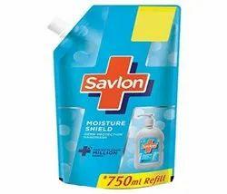 Savlon Handwash 750 Ml Refill, Packaging Type: Pouch