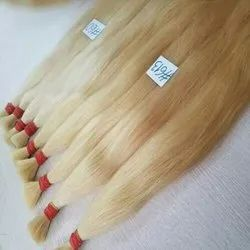 White Long Indian Human Hair For Women And Girls Cheveux Meche