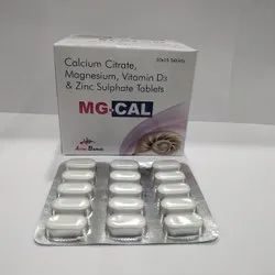 Calcium Citrate 1250Mg +Vitamin D3 200 IU+Zinc 4Mg+Magnesium 100Mg Tablet