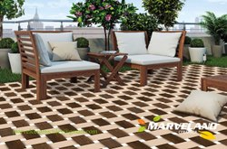 Marvel Kajaria Porcelain Floor Tiles, Thickness: 8-18 mm