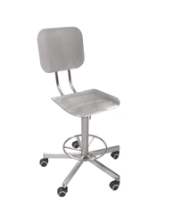 Stainless Steel Revolving Chair