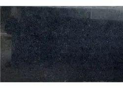 R Black Polished Granite Slab, For Flooring, Thickness: 15mm