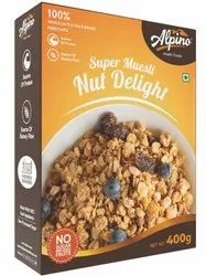 Alpino Muesli - Nut Delight, Packaging Type: Box, Flakes