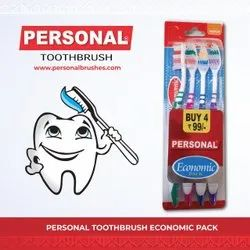 Tooth Brush Personal Economic Pack ( Pack Of 4)
