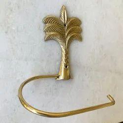 Brass Toilet Paper Holders Palm Tree Design