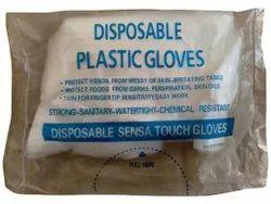 Disposable Plastic Gloves, For Hospital