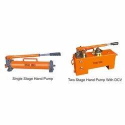 Single Stage Hydraulic Hand Pump