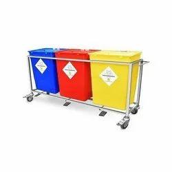 Bio Medical Waste Segregation Trolley