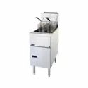 Unifrost Single Tank Manual Gas Fryer (Brand: Pitco)