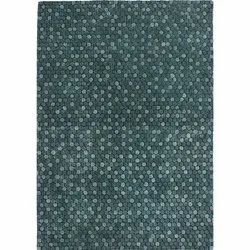 Hand Tufted Green Mist Wool Viscose Area Rug And Carpets