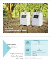 Olive OLV-5A Portable Oxygen Concentrator