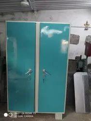 Green Metal Raja Rani Almirah, For Home, Size: Standard