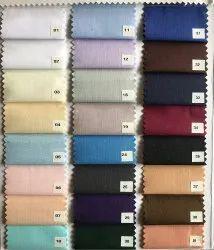 Multicolor Premium Cotton Shirting Fabric, Plain/Solids