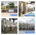 8000 LPH Drinking Mineral Water Plant