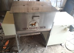 Chemical Powder Ribbon Blender Powder Mixing Equipment For Detergent Granulated Sugar