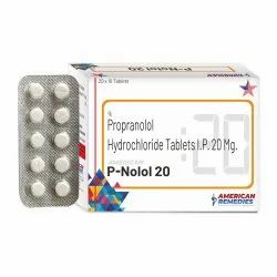 20 mg Propranolol Hydrochloride Tablets