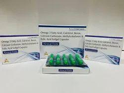 Omega- 3 Fatty Acid + Folic Acid 400mcg +Boron 1.5mg Softgel Capsule