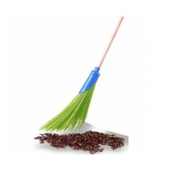 Street Broom with Rod