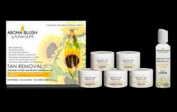 Natural Cream Tan Removal Facial Kit, For Face, Packaging Size: 350gms