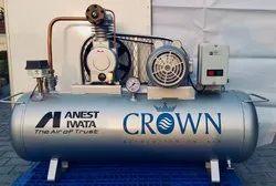 2HP / 90 ltr. Air Compressor Anest Iwata make