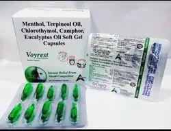 Camphor Menthol Soft Gelatin Capsules
