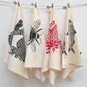 Cotton Printed Tea Towel