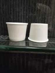 80 Ml White Paper Cup
