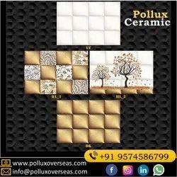 Ceramic Mosaic 30x45 Cm Glossy Digital Wall Tiles, Thickness: 5-10 Mm, Size: 300x450 Mm