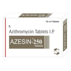 Azesin-250 Azithromycin 250mg Tablets, 60 Tablets